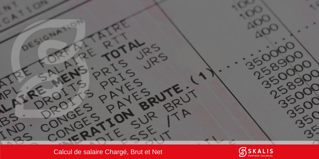 Comment calculer un salaire chargé, salaire brut et salaire net ?