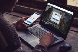 Application et page LinkedIn
